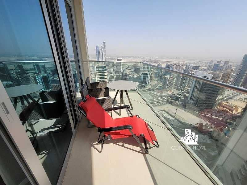 Fully Furnished   High Floor   Burj &Fountain; View