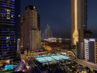 1 Bedroom Flat for Rent in Dubai Marina, Dubai - Sea and Marina Views | Fully Furnished | Spacious 1 Bedroom