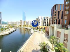 Canal view Huge Apartment | 2BHK + Maid Room | 1 Month Free With All Facilities