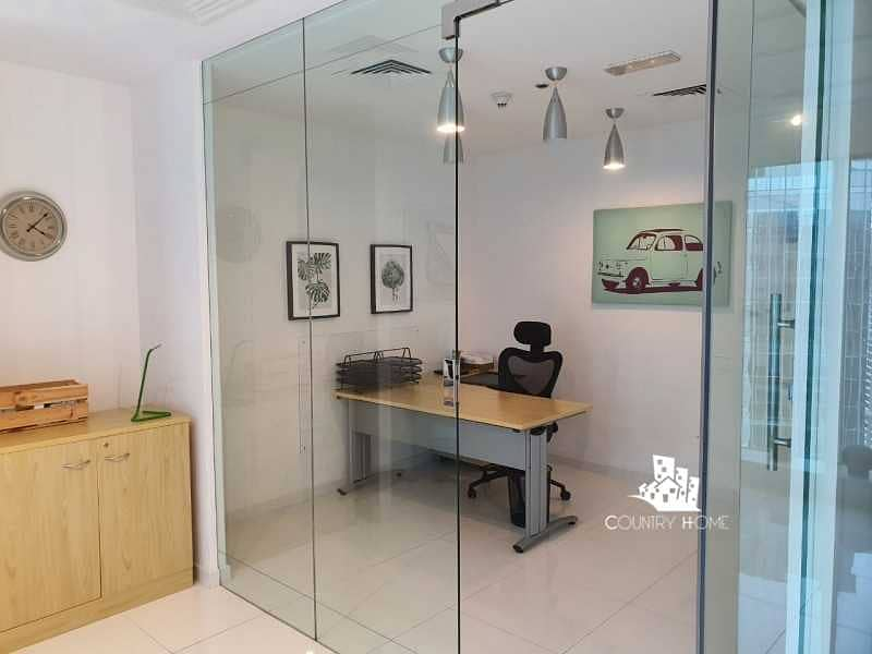 Fully Furnished | Fitted Office | Partial Sea View