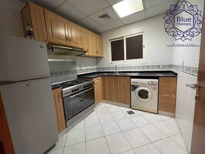 1 Bedroom Flat for Rent in Bur Dubai, Dubai - Close To Metro ! Semi Furnished   Huge 1Bhk Only 45k store Room Gym Poll Parking