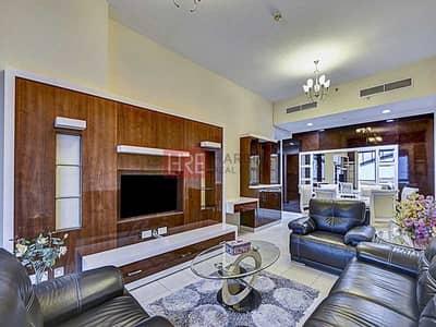 فلیٹ 3 غرف نوم للايجار في شارع الشيخ زايد، دبي - Fully Furnished 3BR | No commission | 1 Month Free