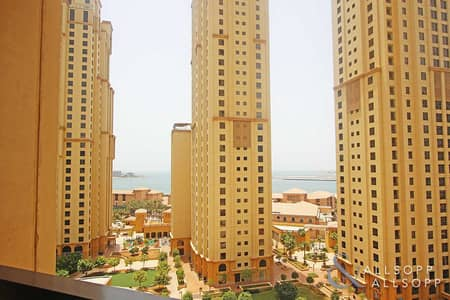 3 Bedroom Apartment for Rent in Jumeirah Beach Residence (JBR), Dubai - Low Floor | Unfurnished | Three Bedrooms