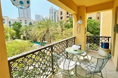 1 Bedroom Flat for Rent in Old Town, Dubai - Furnished | 1 Bedroom | Old Town | Study