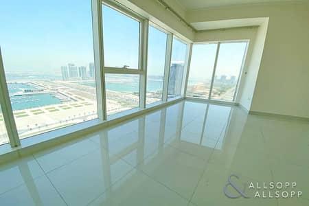 فلیٹ 2 غرفة نوم للايجار في دبي مارينا، دبي - 2 Bedroom | 3 Baths | Sea and Palm Views