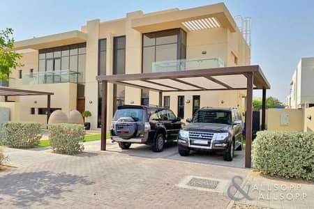 فیلا 3 غرف نوم للايجار في داماك هيلز (أكويا من داماك)، دبي - End Unit | 3 Beds | Available September
