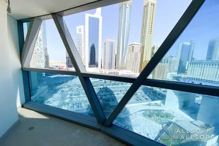 2 Bedroom Flat for Rent in DIFC, Dubai - Two Bed | Balcony | Available Now