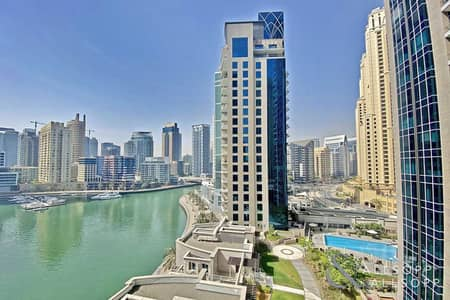 شقة 1 غرفة نوم للايجار في مدينة دبي للإنترنت، دبي - One Bedroom | Corner Unit | Marina Views