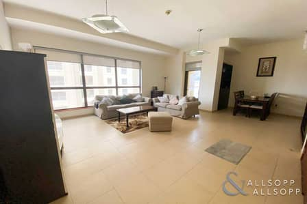 2 Bedroom Apartment for Rent in Jumeirah Beach Residence (JBR), Dubai - Fully Furnished | Partial Sea View | 2 Bed