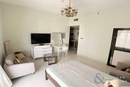Studio for Rent in Dubai Studio City, Dubai - Studio | High Floor | Fully Furnished