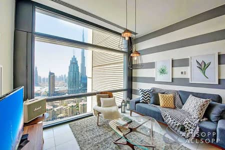 1 Bedroom Apartment for Rent in DIFC, Dubai - 1 Bedroom   Fully Furnished   Burj Views