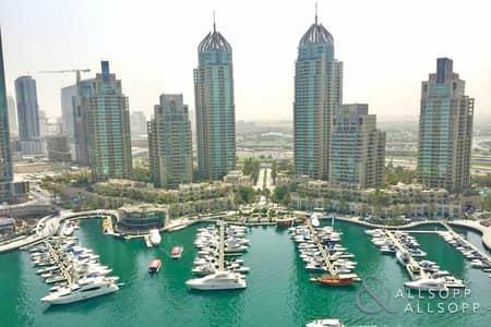 شقة 1 غرفة نوم للايجار في دبي مارينا، دبي - 1 Bed   Furnished   Marina View   Balcony