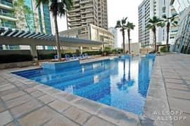 شقة في برج ذا دايموند مدينة دبي الرياضية 34000 درهم - 5250147