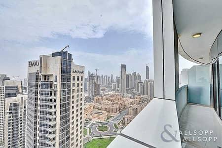 شقة 2 غرفة نوم للايجار في وسط مدينة دبي، دبي - 2 Bedrooms   Available Now   Big Balcony