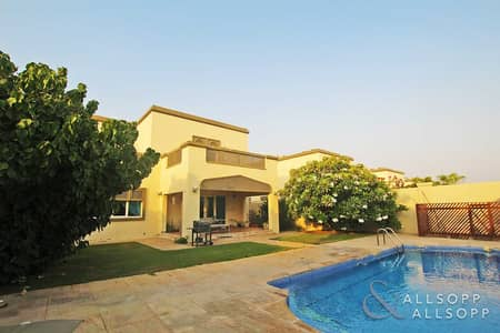 4 Bedroom Villa for Rent in Jumeirah Park, Dubai - Private Pool | Available August | 4 Bed