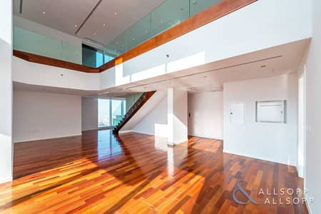 3 Bedroom Apartment for Rent in Sheikh Zayed Road, Dubai - 3 Bed Duplex   Burj Khalifa View   Balcony