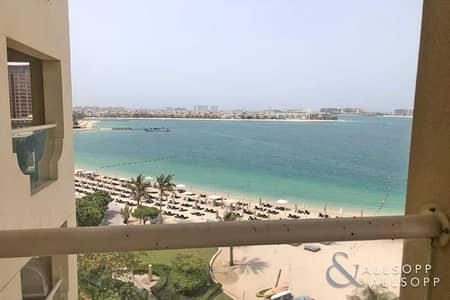 2 Bedroom Flat for Rent in Palm Jumeirah, Dubai - 2 Bedroom | Full Sea View | Beach Access