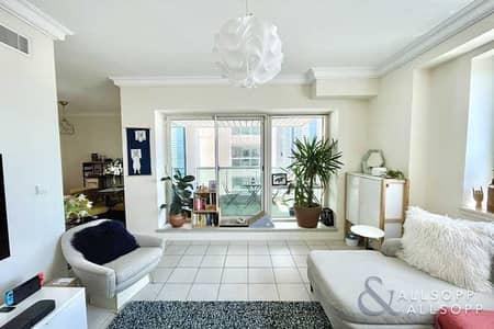 شقة 1 غرفة نوم للايجار في دبي مارينا، دبي - Emaar 6   Unfurnished   Available August