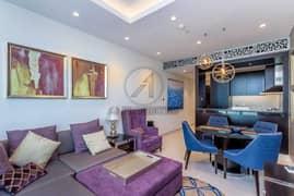 شقة في داماك ميزون ذا ديستينكشن وسط مدينة دبي 2 غرف 115000 درهم - 5148652