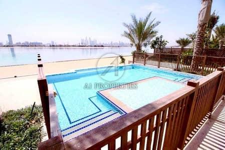 فیلا 5 غرف نوم للبيع في نخلة جميرا، دبي - Private Beach Access 5 Bedrooms Vacant  Sea View