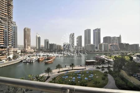 فلیٹ 1 غرفة نوم للبيع في دبي مارينا، دبي - 1 br   Full Marina   Special Layout   Rented High ROI
