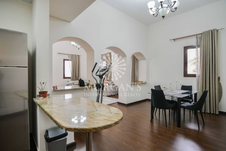 2 Furnished   Spacious 1BR   Community View