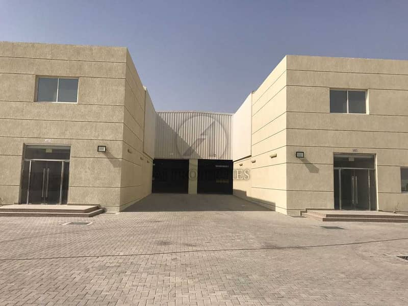 2 Warehouse with high power for Sale in Dubai Industrial Park