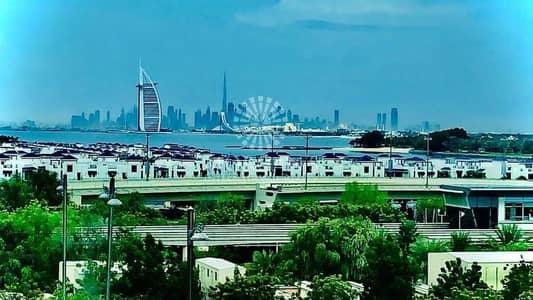 فلیٹ 1 غرفة نوم للبيع في نخلة جميرا، دبي - Burj Al Arab View/Vacant On Transfer/Huge Terrace