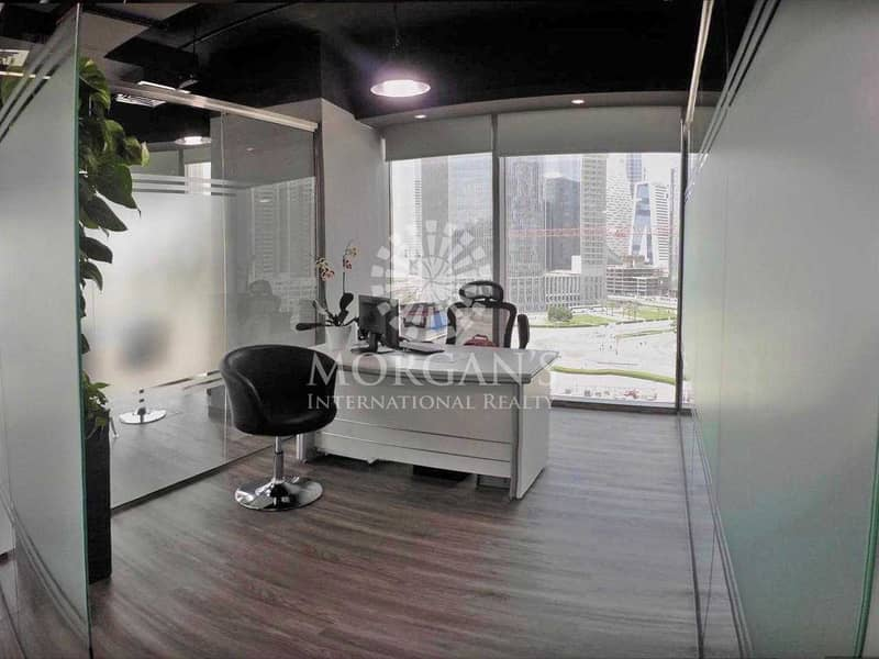 2 Fully Furnished Office Grade A Tower