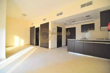 Studio for Rent in Remraam, Dubai - Spacious |  L Shape Studio| Al Thamam