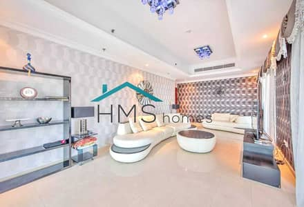 3 Bedroom Flat for Rent in Dubai Marina, Dubai - 3 BR+Maid | Bespoke Furniture | Great Marina Views