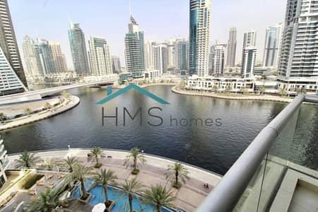 فلیٹ 1 غرفة نوم للايجار في دبي مارينا، دبي - Exclusive   Amazing Marina View   Upgraded