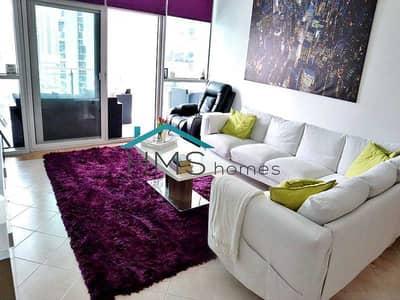 فلیٹ 1 غرفة نوم للايجار في دبي مارينا، دبي - 1BR Funished Panoramic Marina View