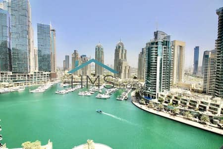 فلیٹ 2 غرفة نوم للبيع في دبي مارينا، دبي - Exclusive   Vacant   Amazing Marina Views