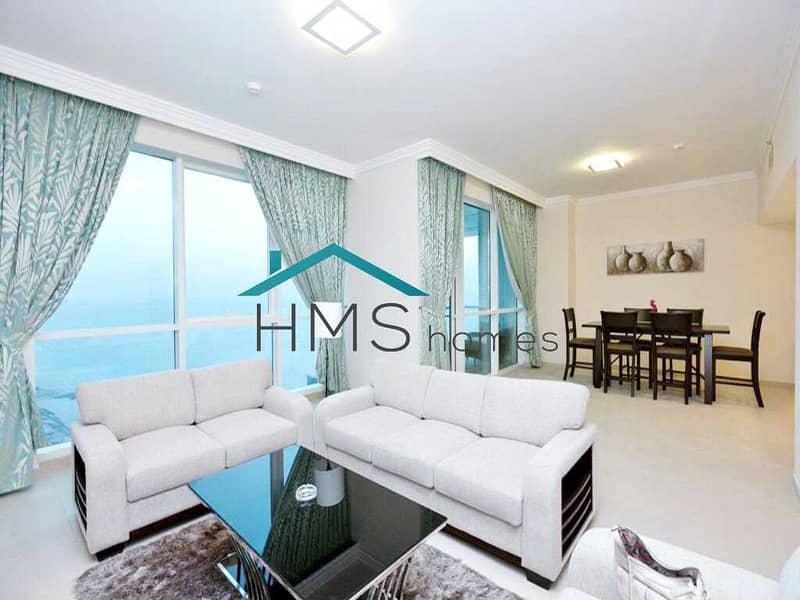 2BR Al Bateen Residence JBR Sea Views