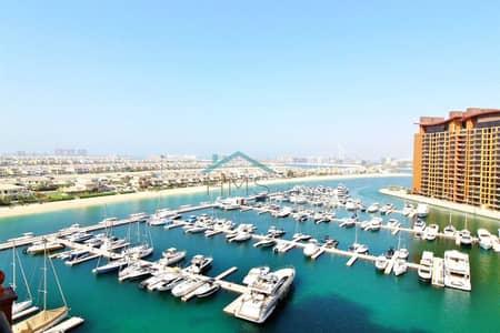 فلیٹ 2 غرفة نوم للايجار في نخلة جميرا، دبي - Available to view today | Gorgeous sea views | Maids