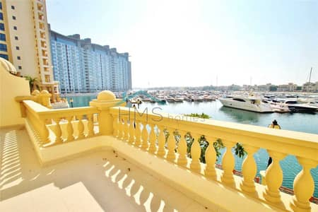 2 Bedroom Townhouse for Sale in Palm Jumeirah, Dubai - Marina Residence Townhouse Sea Views