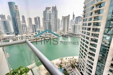شقة 1 غرفة نوم للايجار في دبي مارينا، دبي - Exclusive   Fully Upgraded   Amazing Views