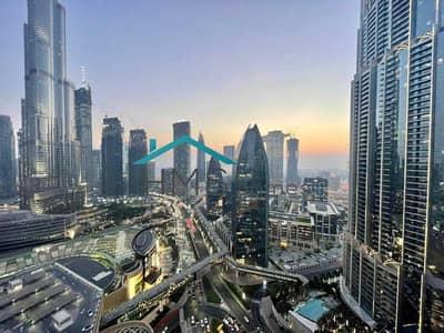 Studio for Sale in Downtown Dubai, Dubai - Higher Floor | Burj & Fountain View | L Shape