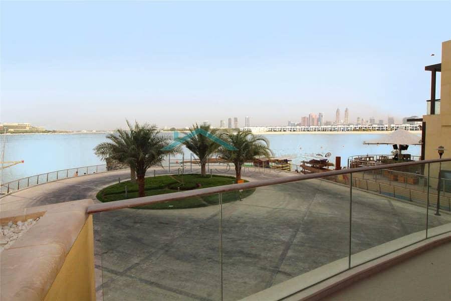 Sea view   2 Balconies   Ground floor