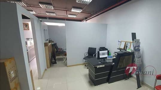 Office for Sale in Dubai Silicon Oasis, Dubai - Basic Fitted office for sale in IT Plaza| Rented.