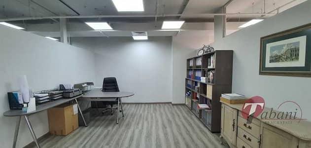مکتب  للايجار في قرية جميرا الدائرية، دبي - Fitted office available for rent in JVC fm 7th May