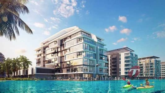 Building for Sale in Mohammed Bin Rashid City, Dubai - Stunning Lagoon Front Building with Beach Access