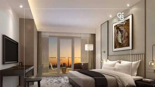 شقة فندقية 1 غرفة نوم للبيع في ذا لاجونز، دبي - Luxury Serviced 1 BR With Panoramic View -Resale Off Plan