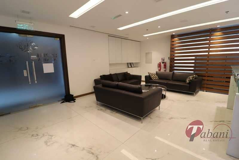 2 Up Graded|High End|Lake and Burj View| Vacant