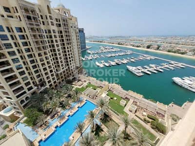 2 Bedroom Apartment for Sale in Palm Jumeirah, Dubai - Type D | Sea And Pool View | High Floor