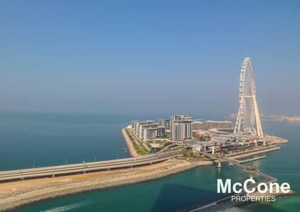 فلیٹ 2 غرفة نوم للايجار في جميرا بيتش ريزيدنس، دبي - Amazing Sea View | Quality Finish | Spacious