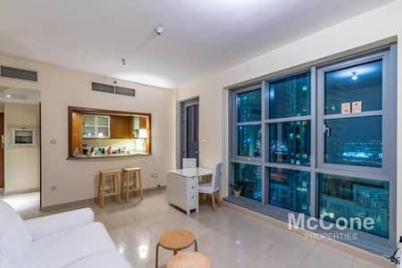 شقة 1 غرفة نوم للبيع في وسط مدينة دبي، دبي - Partial Burj View | Unique Layout | View Today