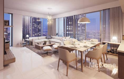 2 Bedroom Apartment for Sale in Downtown Dubai, Dubai - Stunning Sea View | Genuine Listing | High Floor