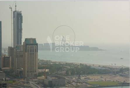 شقة 1 غرفة نوم للبيع في دبي مارينا، دبي - Sea View | High Floor | Furnished | Rented
